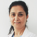 Dr. Sabhyata Gupta (Chairperson) from Gynaecology and Gynae Oncology