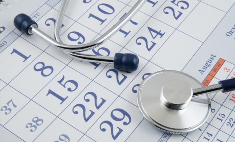 Calendar -chemo cycles