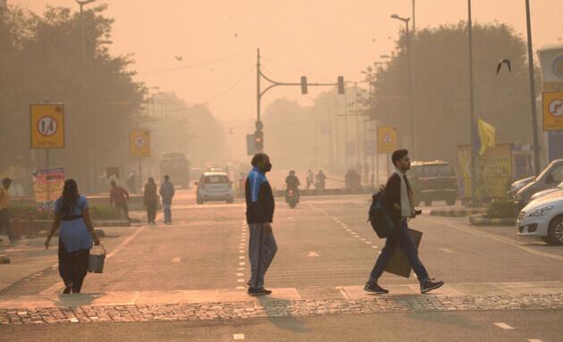 Delhi-Air-Pollutants