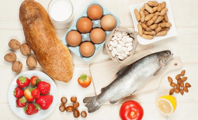Allergy-inducing-foods