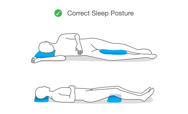 Correct-sleep-posture